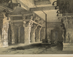 Porch of Temple of Sri Rama, Combaconum